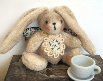 Cute bunny with wings, OOAK