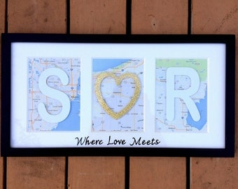 Engagement gift ideas for couple, Bridal shower gift, Engagement gift for daughter, Custom wedding gift, Personalized anniversary gift