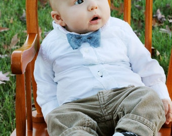 Felt bow ties, baby boy bow tie, pick a color