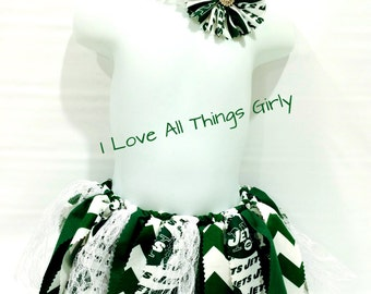 NY Jets Scrappy Tutu, Football, Party,