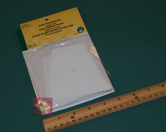 Dritz Quilting English Paper Piecing Tumbler 4″ 50 pieces NEW
