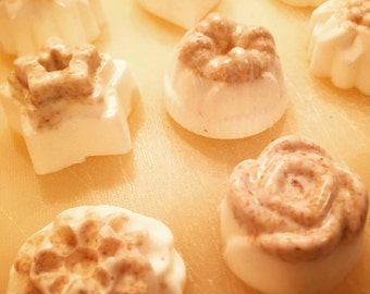 Decorative Soap Tarts - Handcrafted with raw honey and natural beeswax