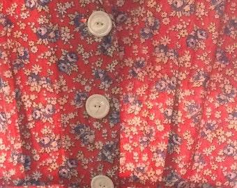 Prairie print dress