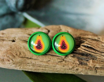 Earrings fruit