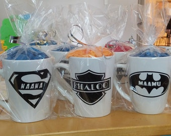 Personalized Super Hero Mugs