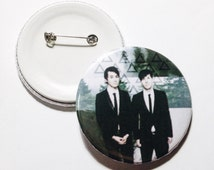 """Dan And Phil 2.5"""" Button Pins"""