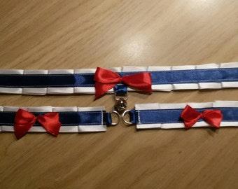 Sailor Moon collar and cuffs set