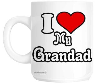 I Love My Grandad Novelty Gift Mug shaniz04