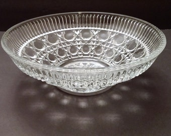Federal Glass Windsor Pattern Bowl
