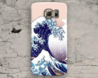 Great Wave off Kanawaga Galaxy S7 Case, Tsunami Galaxy S6 Case, Japan Art Galaxy S6 Edge, Galaxy S6 Edge plus S3 S4 S5 Note 3 4 5 Cool Ocean