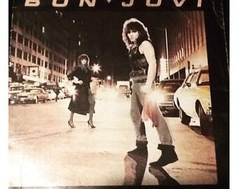 Bon Jovi - Self Titled - Vinyl L.P (1984)