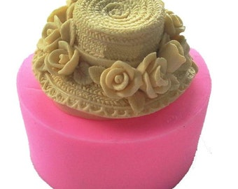 Ladies Straw Hat Silicone Mould