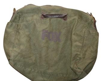 Vtg Military Canvas Messenger Bag/Tote/Satchel