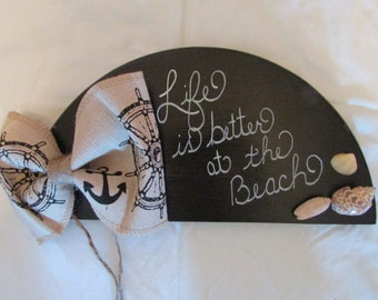 Hand Painted Hand Lettered Wall Decor