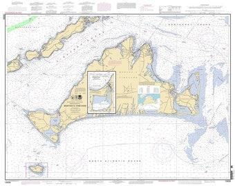 2011 Nautical Map of Martha's Vineyard