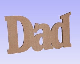 Unfinished DAD cutout