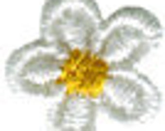 """5/8"""" - 1.6cm White Flower Dasiy Applique Sew On Patch Craft Supplies w/ Free Shipping"""