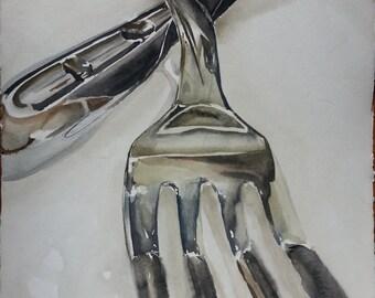 Fork Resting