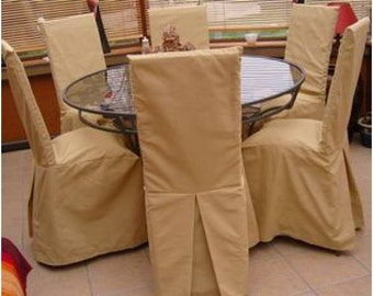 Your dimensions (long) Chair cover