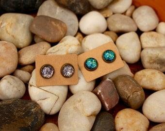 Bronze 10mm Earrings