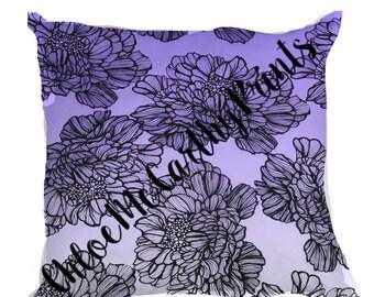 Hand Drawn Cushion Cover