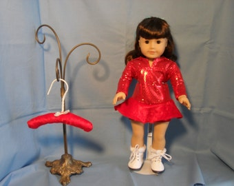 18 Inch American Girl Doll Ice Skating Performance Costume