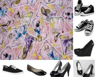 Princess card shoes