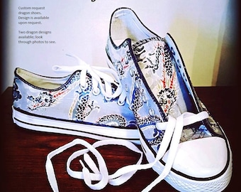 Japanese dragon shoes