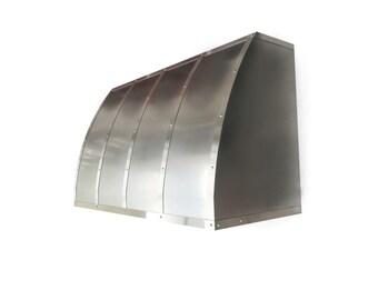 Single Roll Wall Mount Stainless Steel Range Hood (Front Roll)