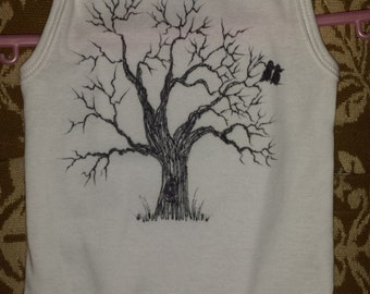 12M Tree tank onesie