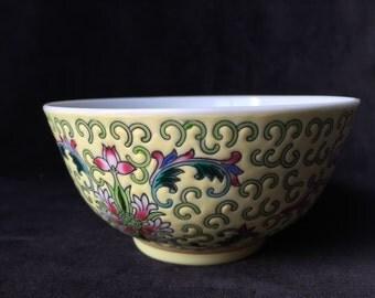 Vintage china rice bowl