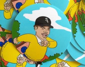 "Chance the Rapper x Arthur 3"" sticker"