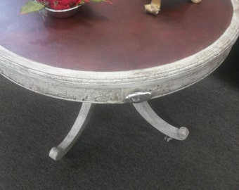 Antique Hand Painted Coffee Table