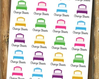 Change Sheets Planner Stickers