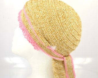 Summer hat, crocheted from linen yarn, crochet women hat, women sun hat