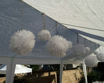 Tissue pom Pom balls