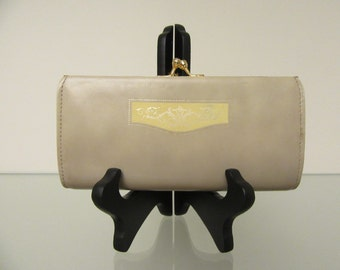 SALE! Rare Vintage 1970s Shiseido Clutch Purse