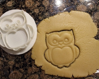 Owl Cookie Cutter and Fondant Cutter, Party Supply,Birthday, Child Party,Children Party
