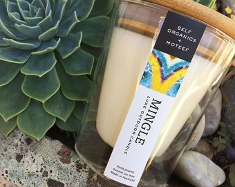 Luxe Outdoor Candle - MINGLE