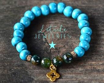 """Bracelet """"between Earth and heaven"""""""
