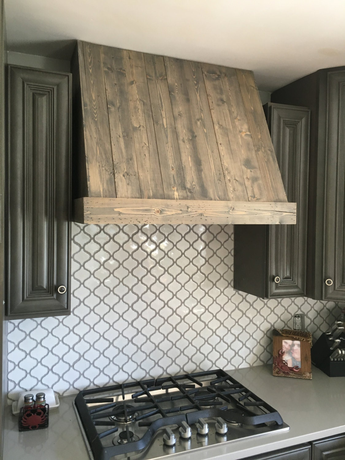 Wood Chimney Hoods ~ Rustic wood custom hood vent by thebarnperry on etsy