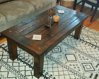 Hardwood Family Coffee Table