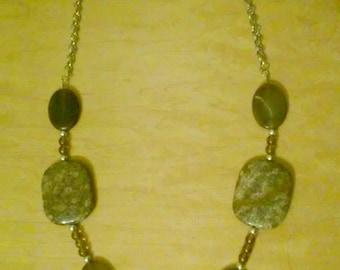 Bead & Stone necklace