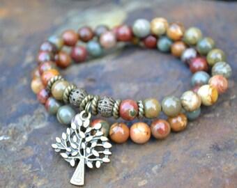 """Bracelet MUSE tree - MEDIUM (wrist 6.25 """")"""