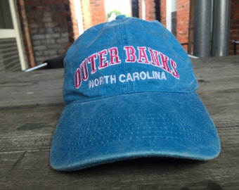 Classic 90s Outer Banks Blue Hat Denim