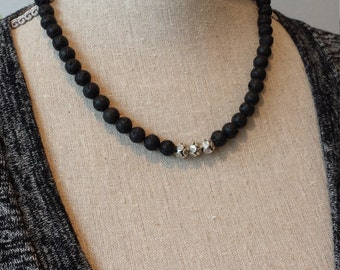 Lava Stone Jackie Necklace
