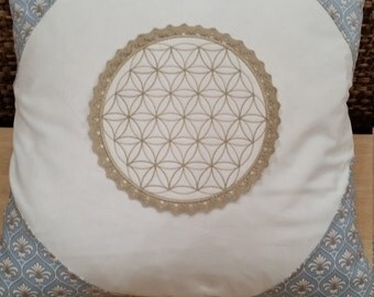 Pillow flower of life