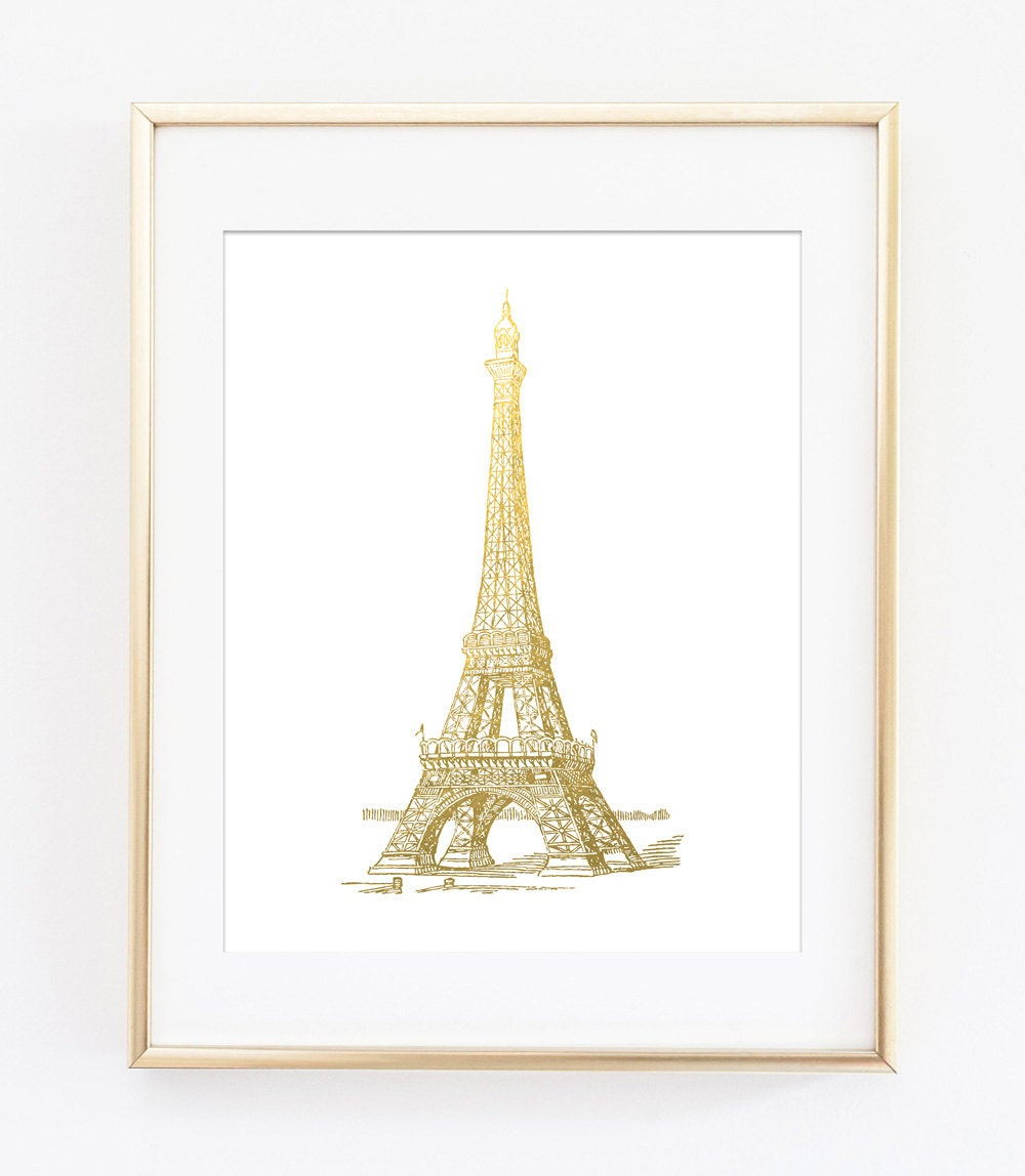 It is an image of Candid Printable Eiffel Tower