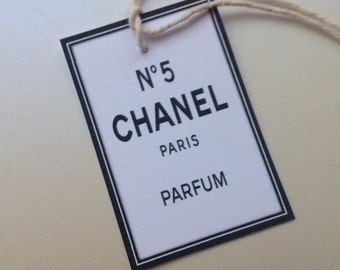 Chanel tags | Etsy