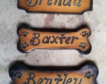 Dog Bone and Name Add-Ons